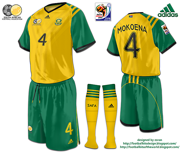 South Africa World Cup 2010 fantasy home