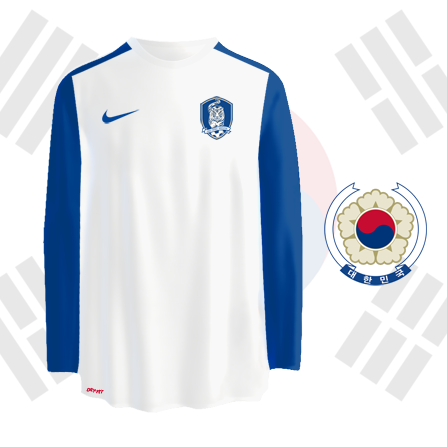 South Korea away kit