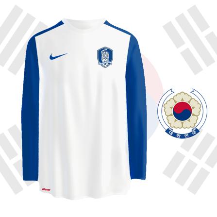 South Korea away kit