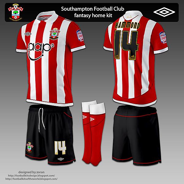 Southampton F.C. fantasy home and away
