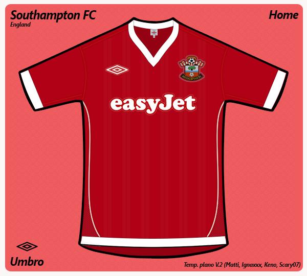 Southampton FC home (umbro)