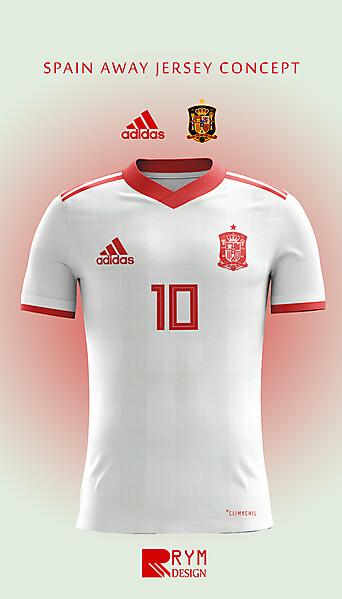 Spain Away Jersey Concept