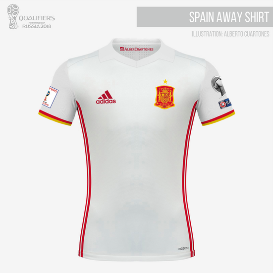 Spain Qualifiers FIFA World Cup 2018™ Away Shirt