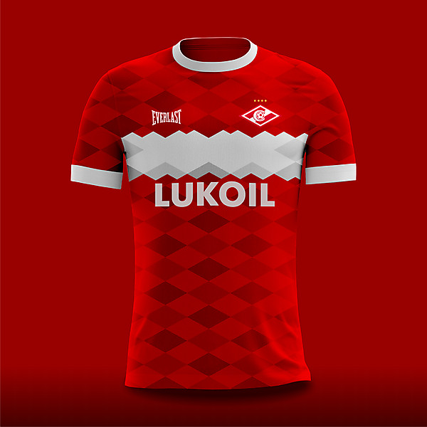 Spartak Moscow Home Concept X Everlast