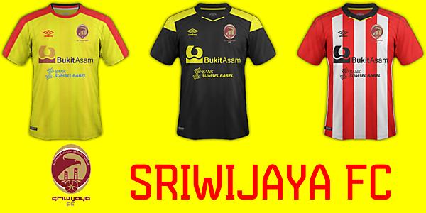 Sriwijaya FC (Indonesia) Fantasy Kit