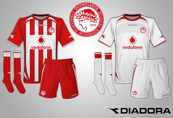Olympiacos Diadora Kit