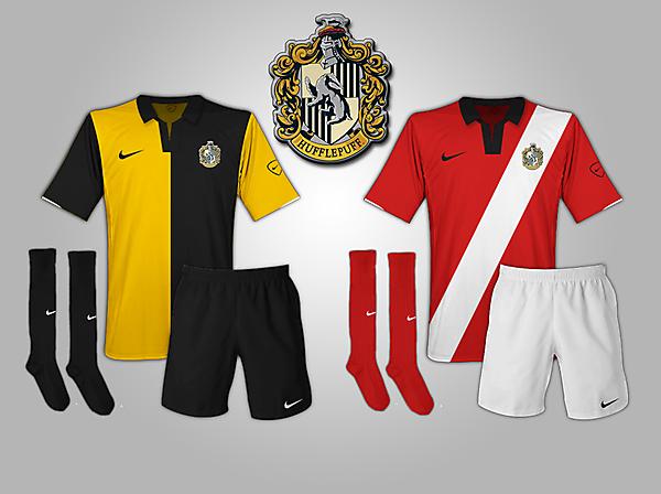 Hufflepuff (Harry Potter) Fantasy Football Kits
