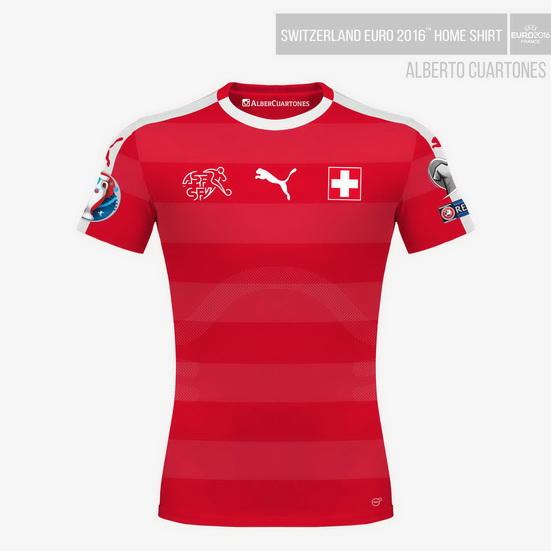 Switzerland UEFA EURO 2016™ Home Shirt