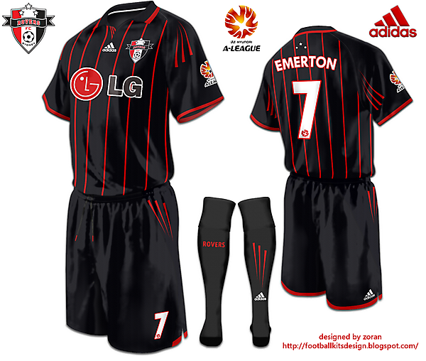 Sydney Rovers FC Away or Third Kit