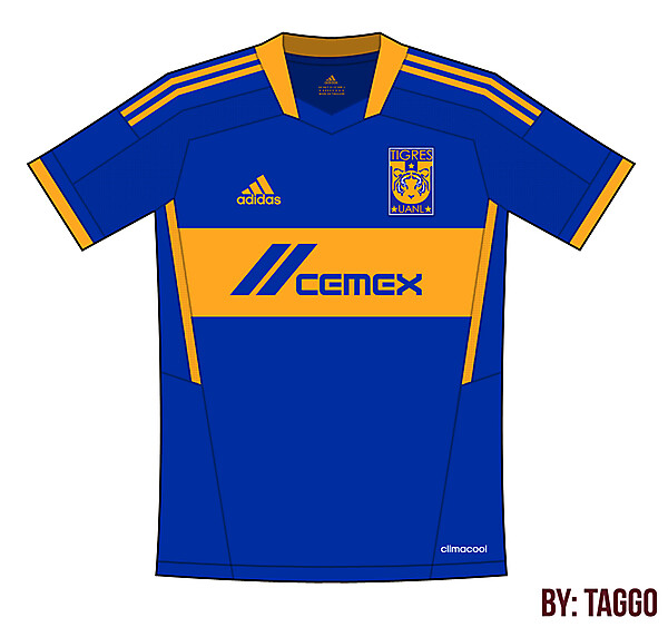 Tigres UANL Adidas Away