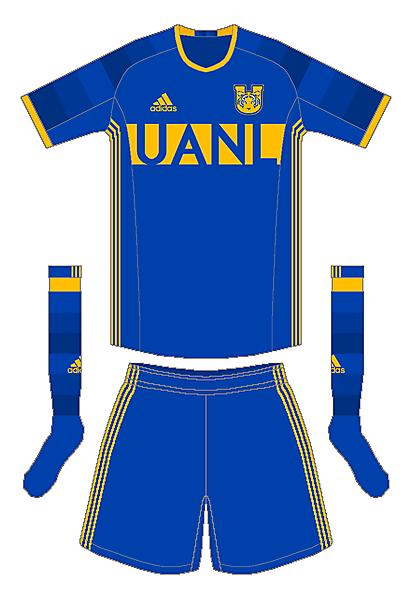 Tigres UANL Adidas Away Kit