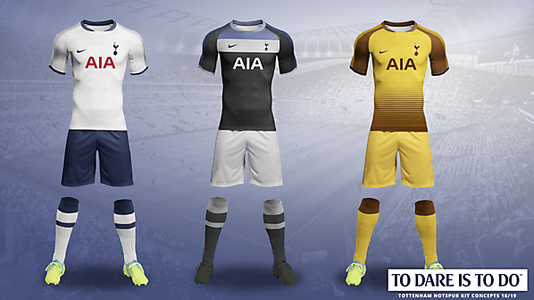 new product 91dea 9c188 Tottenham Hotspur kits 2018/2019