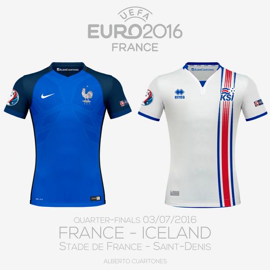 UEFA EURO 2016™ Quarter-Finals   France vs Iceland