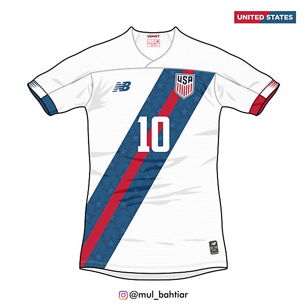 United States 2020 New Balance Third Jersey Concept