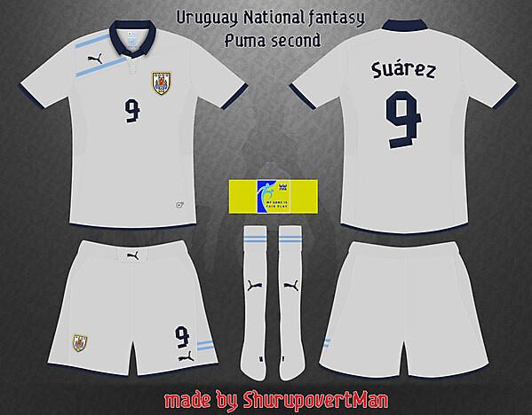 Uruguay Fantasy Puma Away