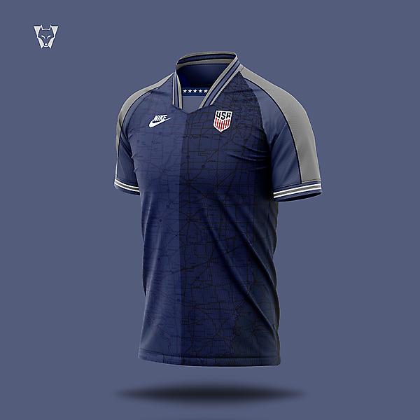 USA x Nike third kit - player special
