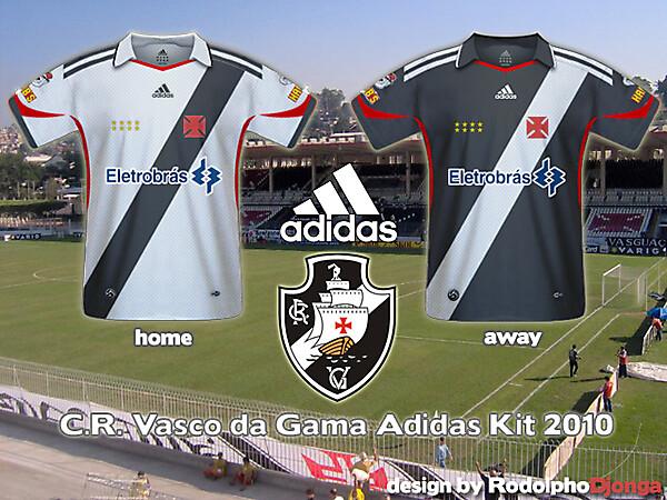 Vasco da Gama Fantasy Kit - Adidas - 2010