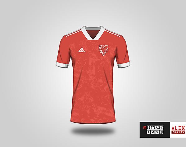 Wales X adidas - Home