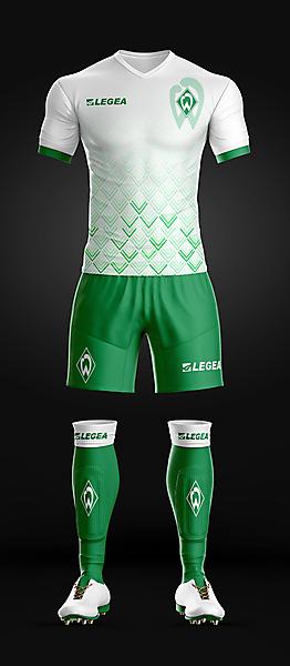 Werder Bremen - Away kit