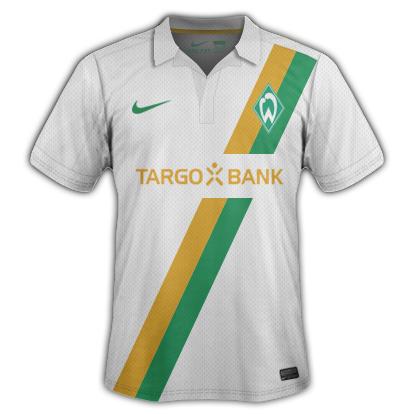 Werder Bremen Fantasy Kits with Nike