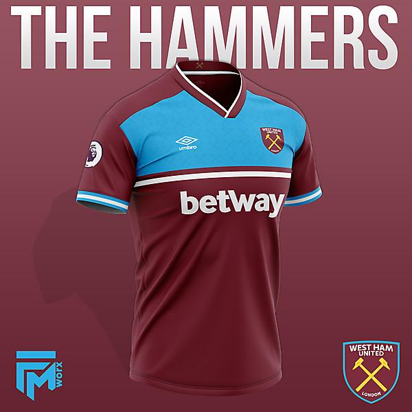 West Ham United 2020/21 Home Concept