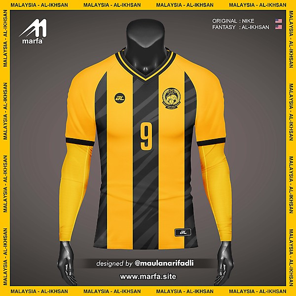 WHAT IF MALAYSIA NT JERSEY SPONSORED BY LOCAL APPAREL