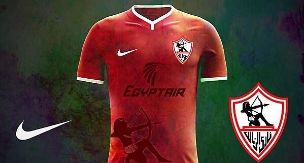 Zamalek SC Nike Home kit