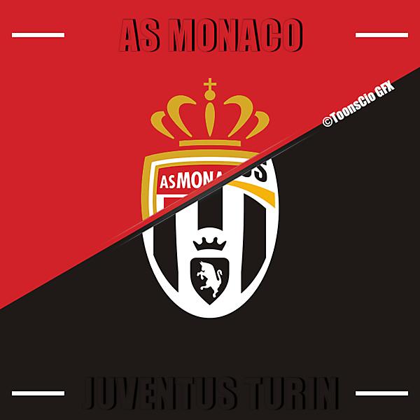 AS Monaco vs Juventus Turin