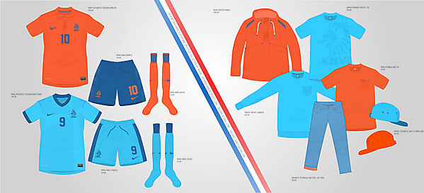 2014 Nike Netherlands Kits + NSW Collection