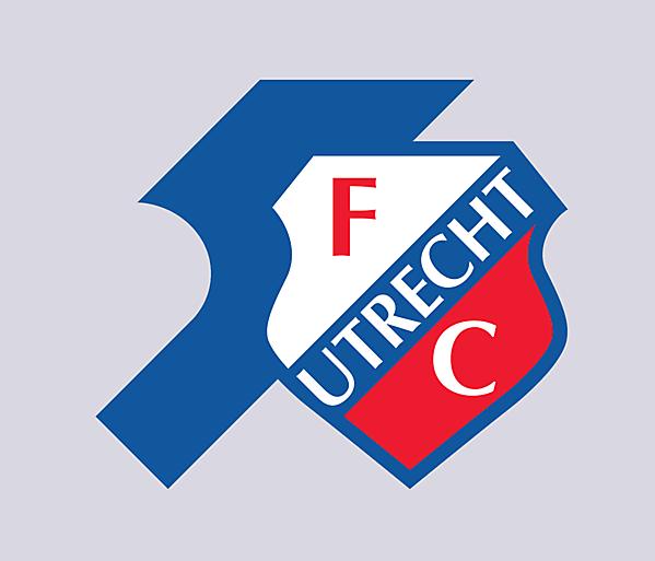 FC Utricht Fifty Years logo.