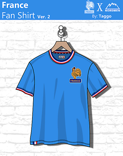 France Fan shirt Ver. 2