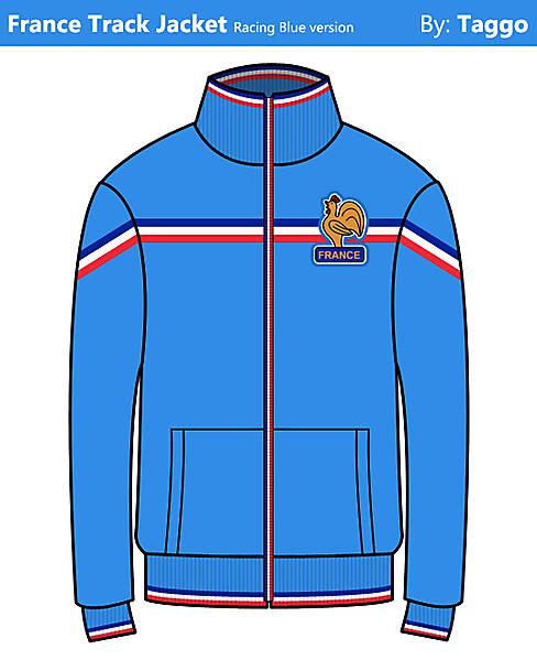 France Fan Track Jacket