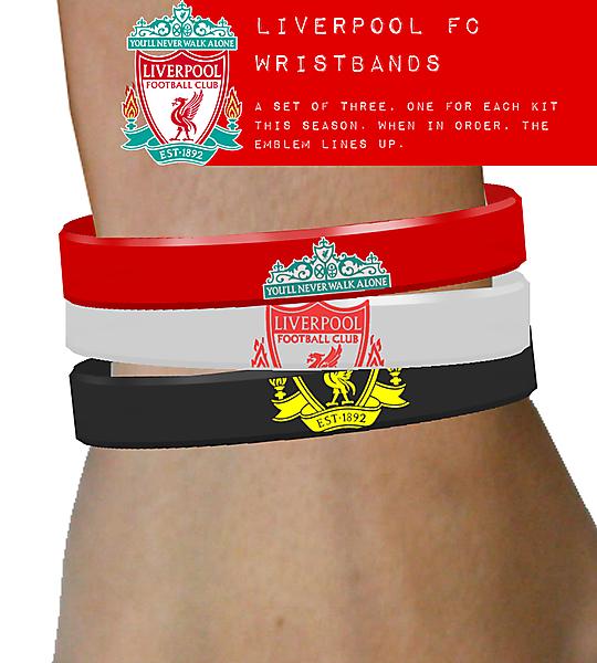 Liverpool FC Wristbands