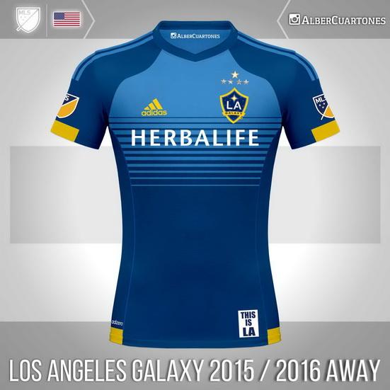 Los Angeles Galaxy 2015 / 2016 Away Shirt