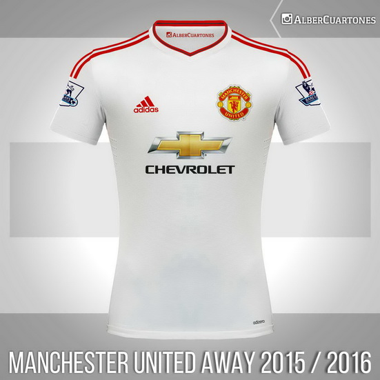 buy popular 36929 81ea0 Manchester United 2015 / 2016 Away Shirt