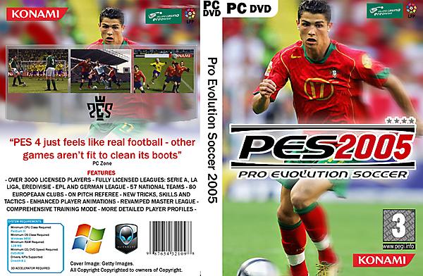 PES 4 Cover in current design language