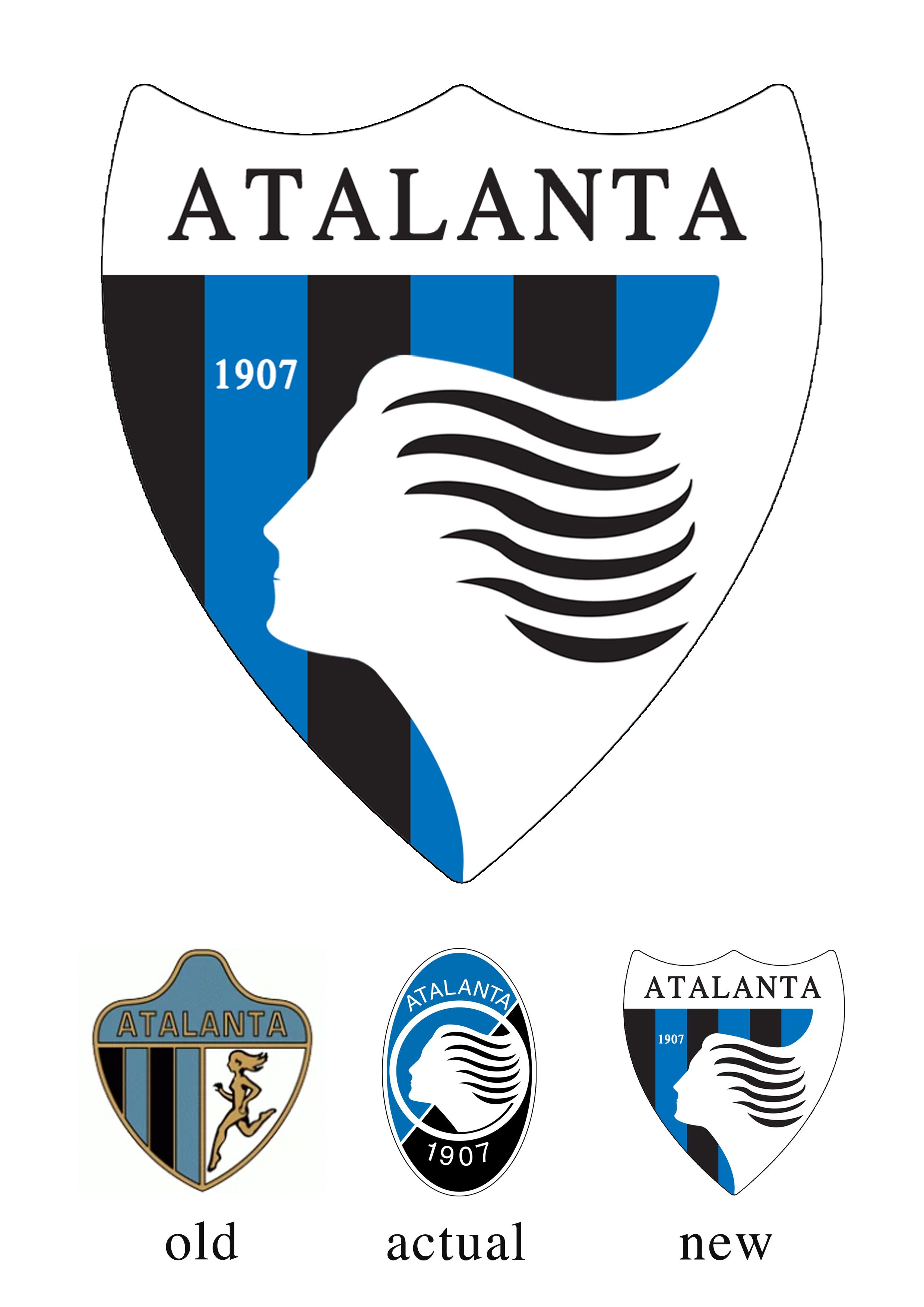 atalanta new logo concept atalanta new logo concept
