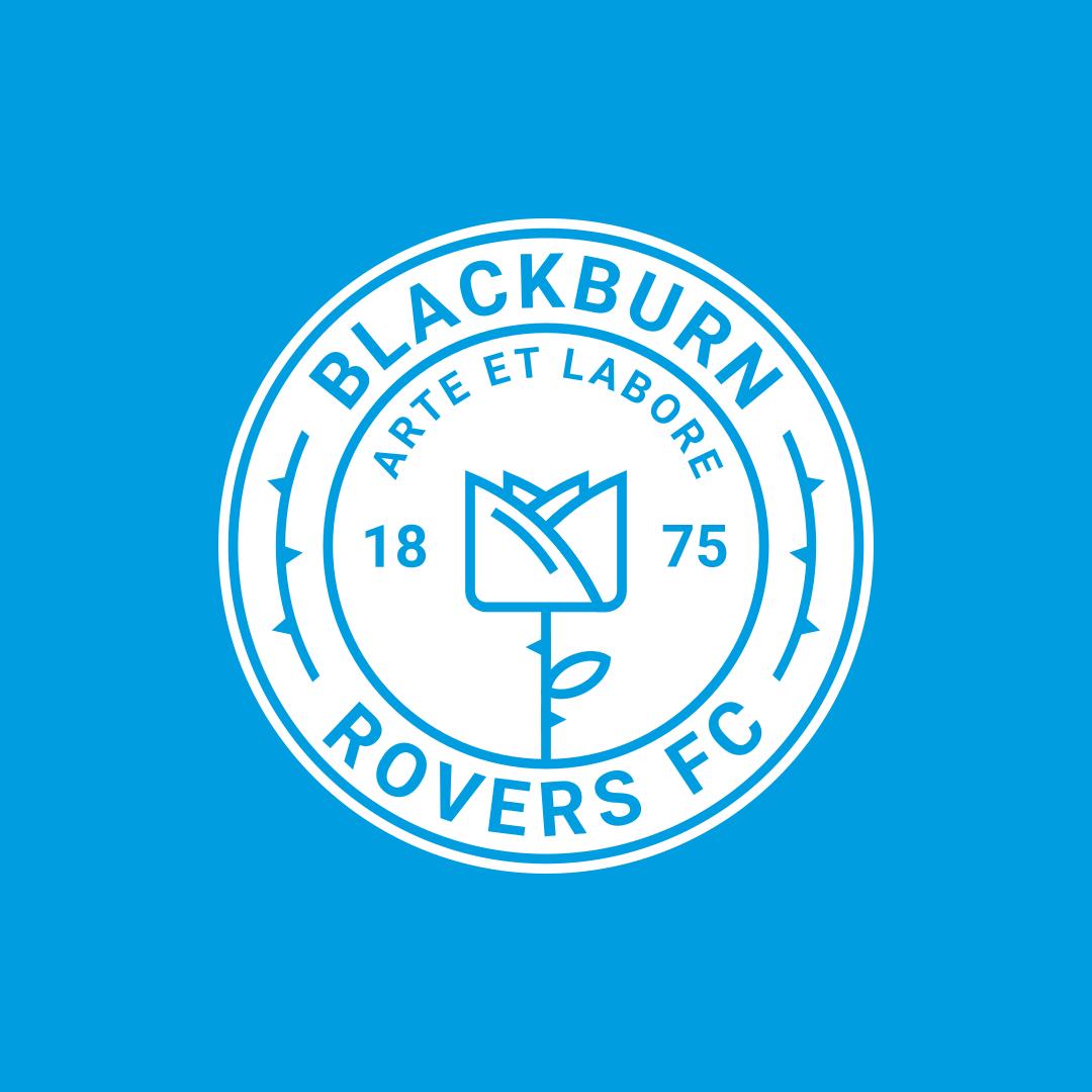 Blackburn Rovers F.C CREST Personalised Bookmark