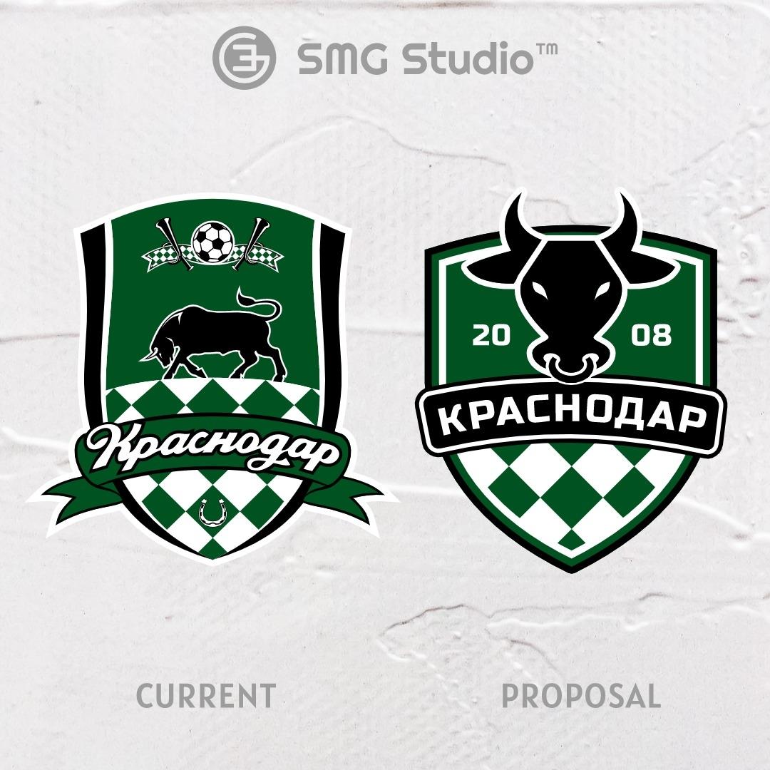 Fc Krasnodar Crest Redesign