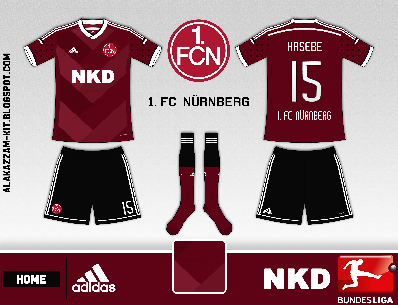 new style 859de ac377 1. FC Nürnberg Home