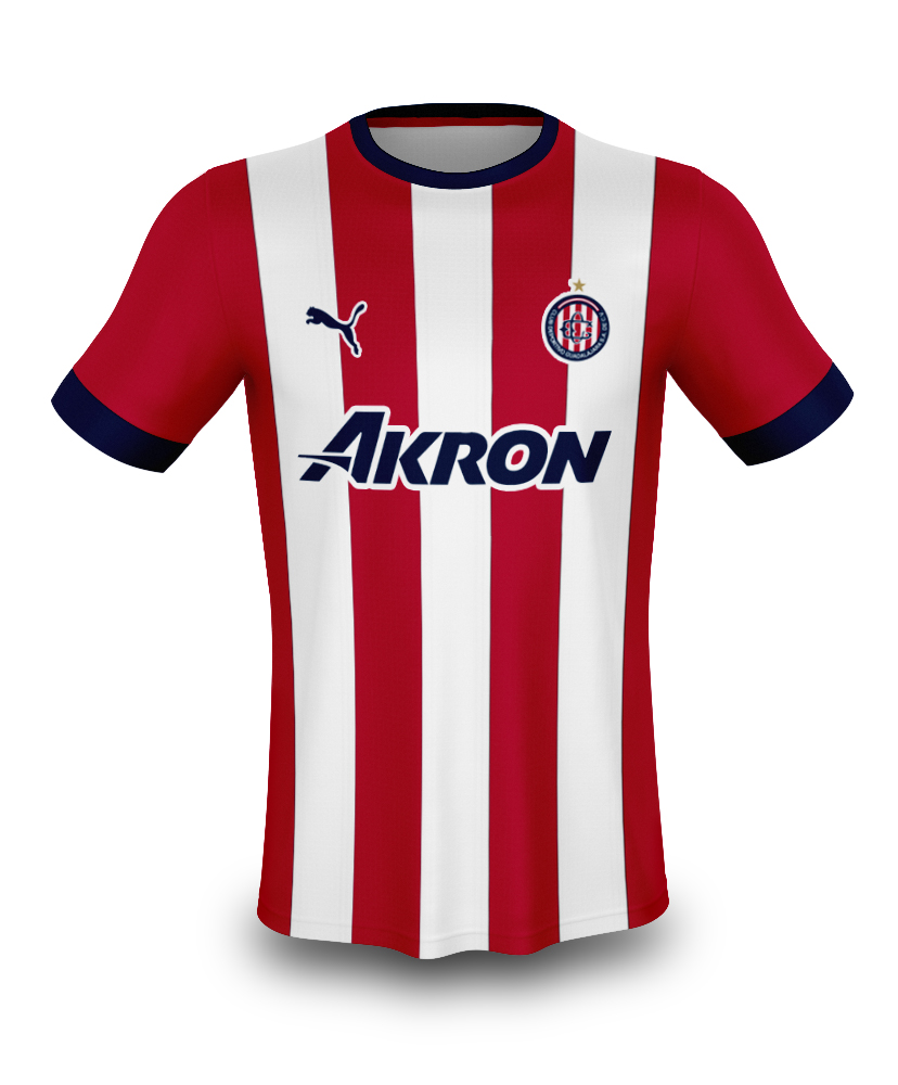 check out 86446 cd25c 2018 Chivas Home Kit w/ New Logo