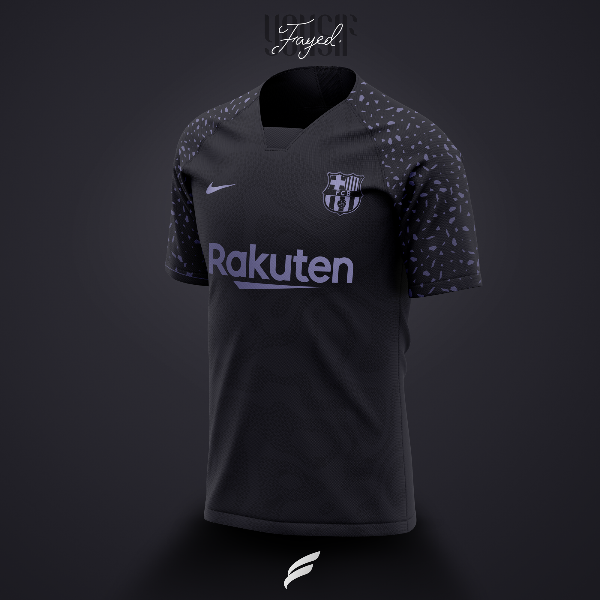 Fc Barcelona 21 22 Third Kit Leaked