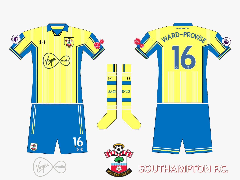 ee99efa97 Southampton FC Away Kit 2019 2020 Retro V.2