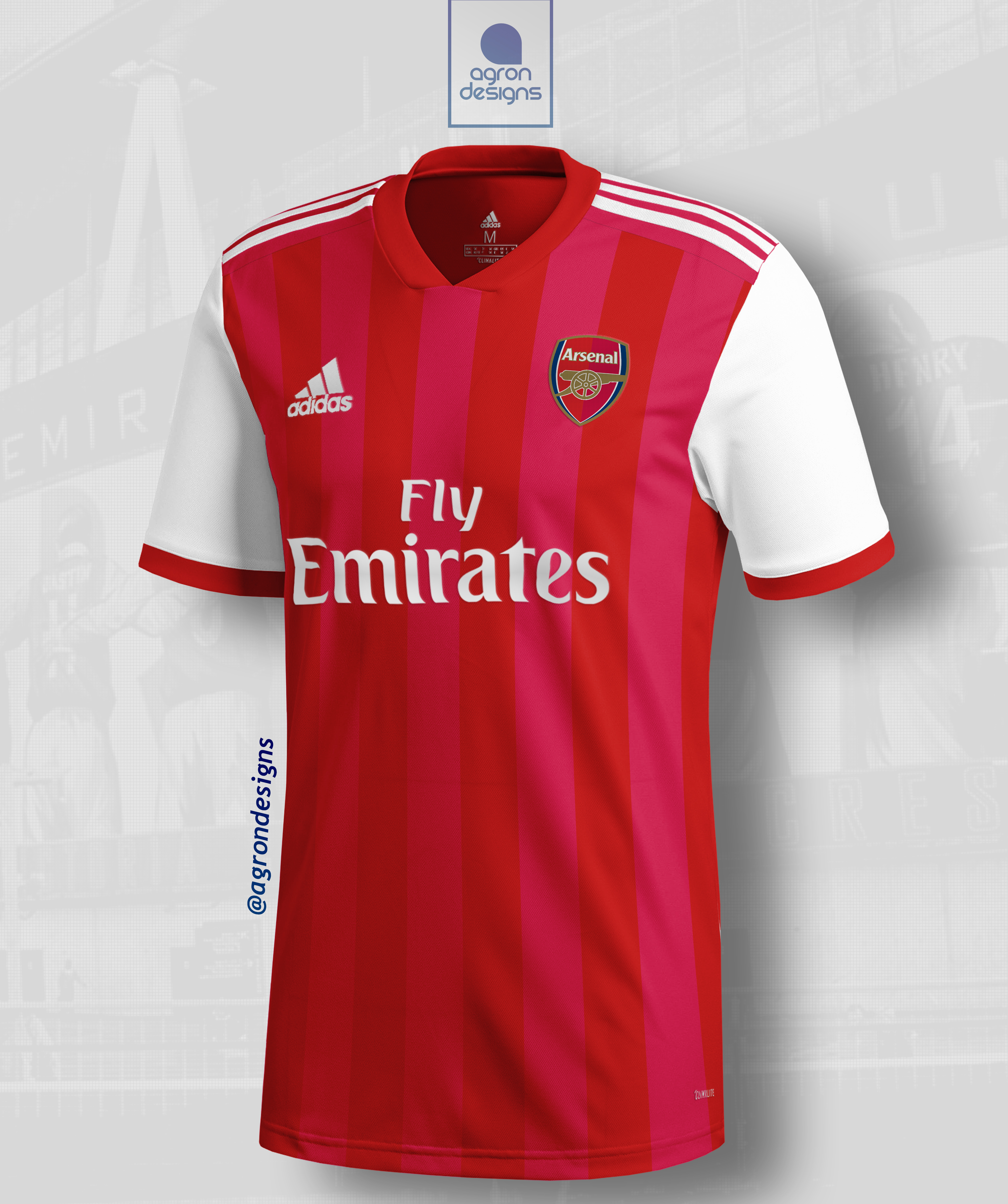 online store 32e02 3a117 Adidas Arsenal Fc Home Kit Concept