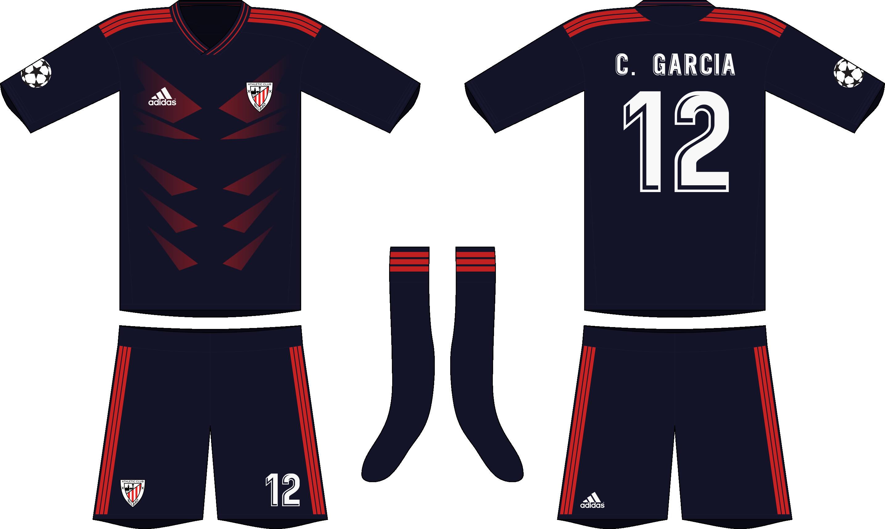 meet 1c8a2 0a68d Adidas Athletic Bilbao 2019-20 Away Kit