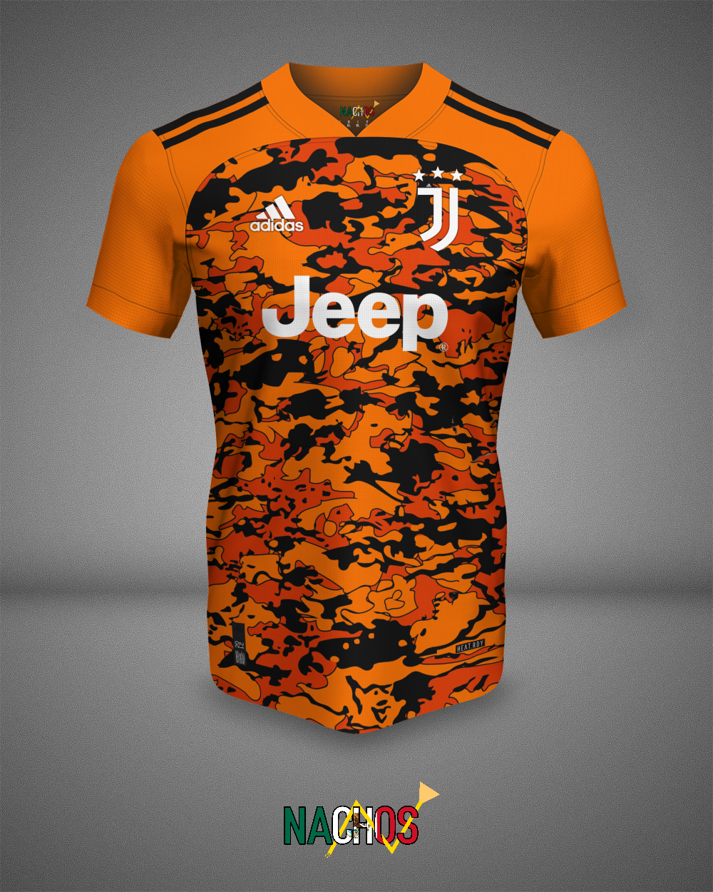 13+ Juventus Orange Full Kit