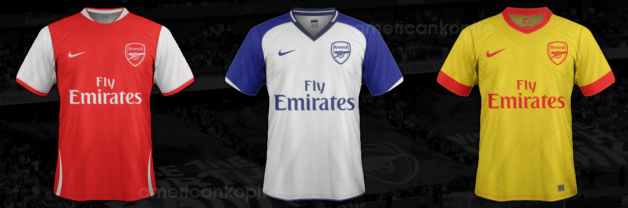 011ecc3b4 Arsenal Concept 2013 14 Kits