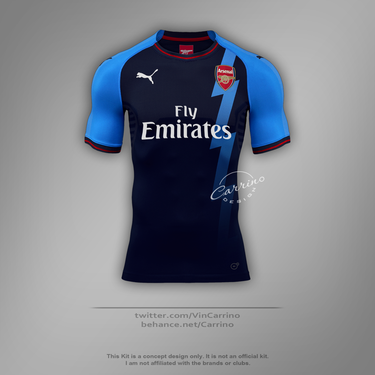 2fcd9c691ef Arsenal FC Third Jersey