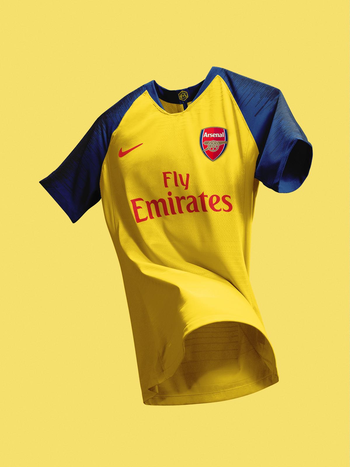sale retailer 03513 395c7 Arsenal Nike Away Concept Kit