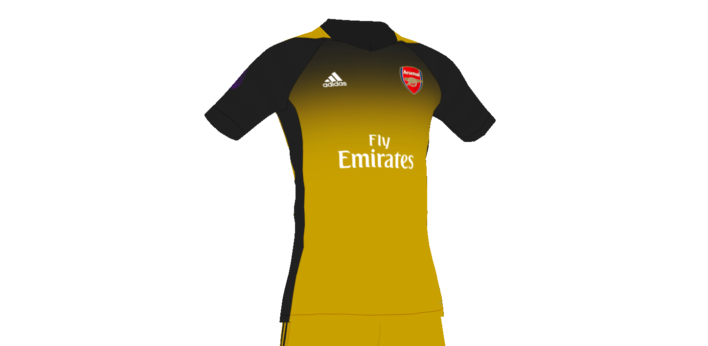 pretty nice 517d5 725b1 Arsenal third kit concept